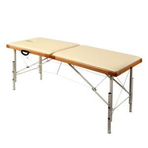 Раскладной массажный стол phn190 со светлыми ножками