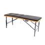 Разложенный раскладной массажный стол phn190n