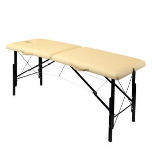 Бежевый раскладной массажный стол whn185